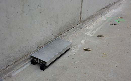 Bekisting staat altijd waterpas door de innovatieve Concrete Stop