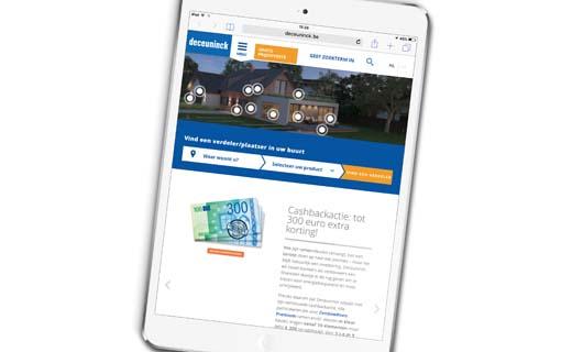 Nieuwe website Deceuninck meer dan alleen een nieuw jasje