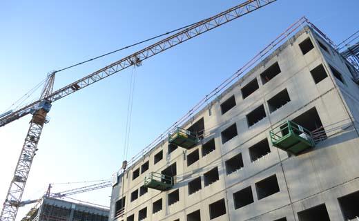 Recordaantal mensen aan het werk in Antwerpse bouwsector