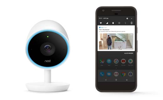 Nieuwe Nest Cam IQ indoor