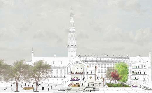 Stadhuis Leiden wordt Hof van Leiden