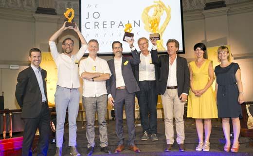 Jo Crepain prijzen uitgereikt