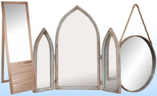 Laat je huis veel groter lijken door goed geplaatste spiegels