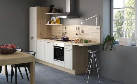 Design Kleine Keuken : Start: de kleine keuken die alles van een grote heeft bouwenwonen.net