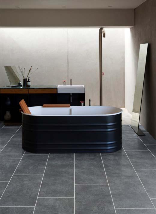 Waterproof badkamervloeren van PVC - bouwenwonen.net