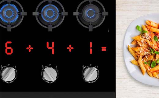 Precisie bij koken met gas