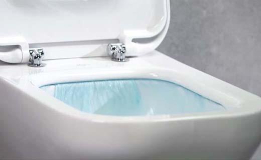 Innovatieve AquaBlade waterval spoeltechniek
