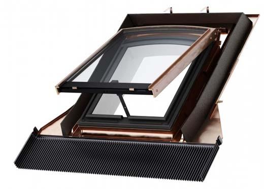 Velux introduceert eerste dakraam speciaal voor monumentale gebouwen
