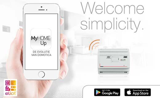 Back to basics met nieuwe app MyHOME_Up van BTicino