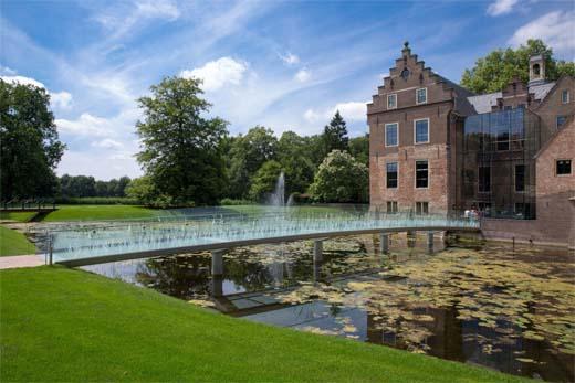 Glazen Toegangsbrug Hans van Heeswijk architecten Siert Entree Museum MORE- Kasteel Ruurlo