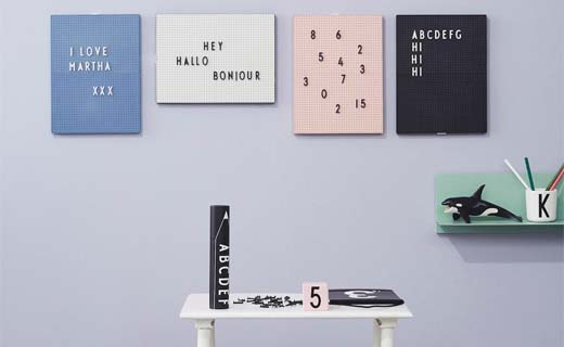 Back to school met Nordic Living en de retro letterborden