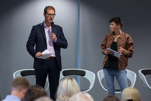 Jochen de Smet en Erika van Tielen