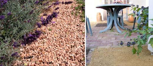 Grind of kiezel in de tuin