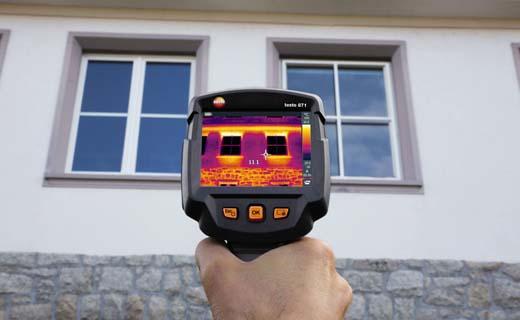 Grondige energiediagnose met warmtebeeldcamera