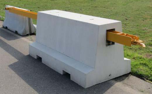 Veiligheid in een blok beton