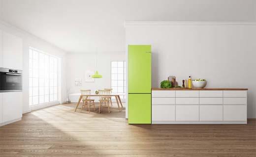 De eerste koelkast die van kleur kan veranderen