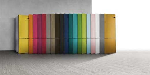 Bosch - De eerste koelkast die van kleur kan veranderen