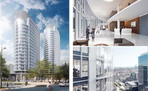 Interbuild verwerft opdracht voor twee kantoortorens Möbius in Brussel