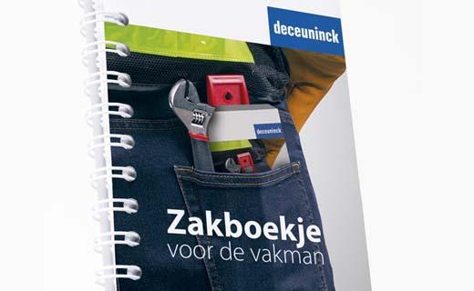 Deceuninck stelt nieuw 'Zakboekje voor de vakman' voor