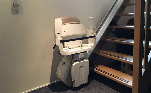 Waarom geen nieuwe traplift kopen?