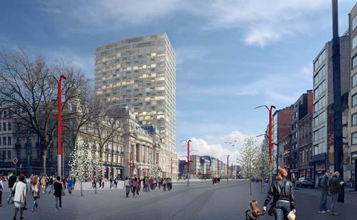 Antwerp Tower zoekt nieuwe hoogte op