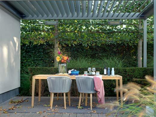 Genieten van je tuin, ook tijdens de herfst en winter