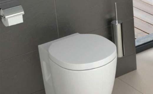 Het gemak van een hoog toilet