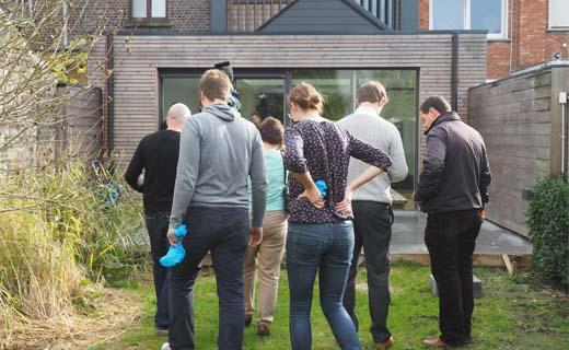 Duurzame woningen openen hun deuren in Brussel