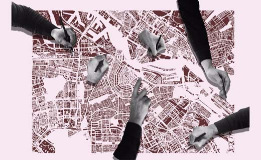 Tentoonstelling en digitale publicatie over zes hotspots in Amsterdam