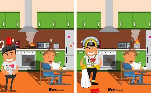 Tips voor meer brandveiligheid in de keuken