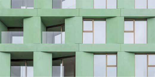 Het project 'WOODS' in Leuven van Crepain Binst Architecture