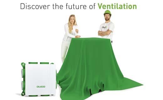 Duco brengt de toekomst van ventilatie naar Batibouw 2018