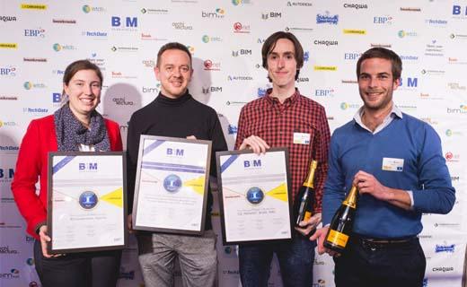 BESIX wint zes prijzen op eerste Benelux BIM Awards