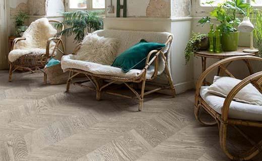 Batibouw nieuwe quick step vloeren waar de luxe van afspat
