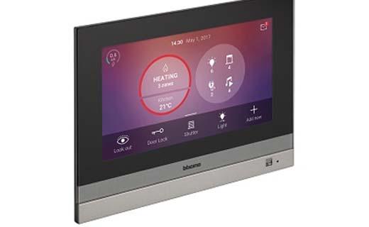 Hometouch is het nieuwe touchscreen van BTicino