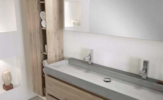 Beton in de badkamer - bouwenwonen.net