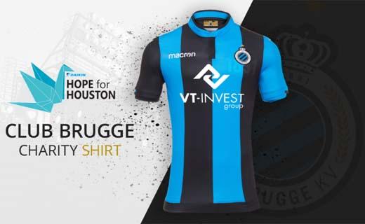 VT-Invest éénmalig shirtsponsor ten voordele van Hope for Houston