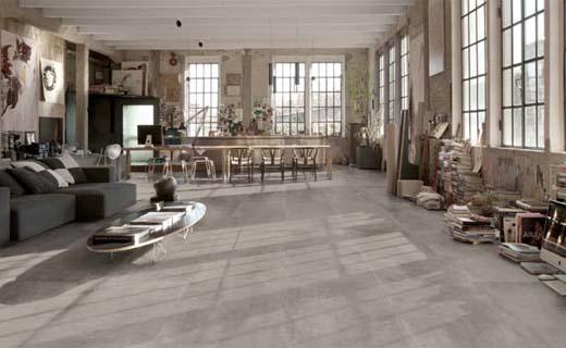 Keramische Tegels Binnen : Keramische betonlook tegels voor een industriële uitstraling