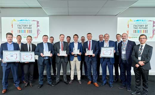 Reynaers Aluminium wint Factory of The Future Award