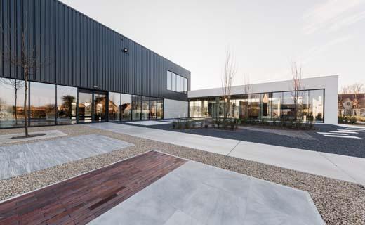 Groep Verhelst opent indrukwekkende site in Knokke