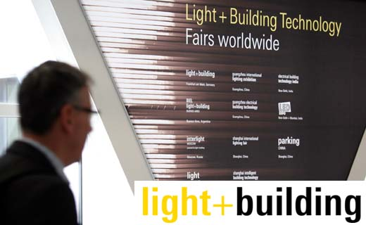 Gratis Duoticket voor Light + Building in Frankfurt