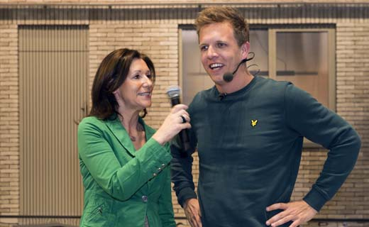 James Cooke geeft startschot voor Batibouw wedstrijd van Wienerberger