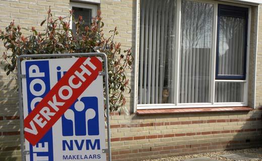 Verkoopprijs Nederlandse woning stijgt met bijna 15%