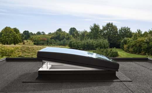 Velux koepel gebogen glas wint prestigieuze iF design award
