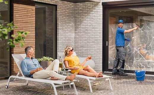 Nieuwe ramen? Win 1 jaar gratis ruiten wassen
