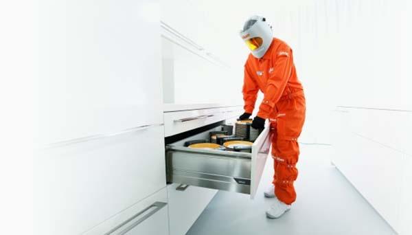 Maak een proefrit in je nieuwe keuken met Blum