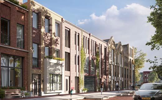 Blauwhoed wint tender bouwveld 8 Leeuwesteyn, in Utrecht