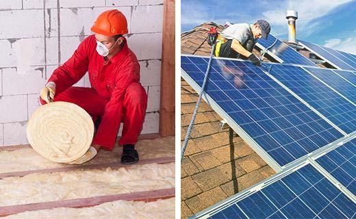 Isoleren of zonnepanelen installeren: wat is de voordeligste optie?