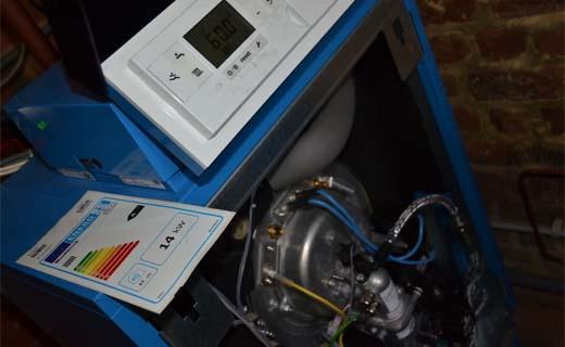 modulerende condensatieketel voor rijwoning