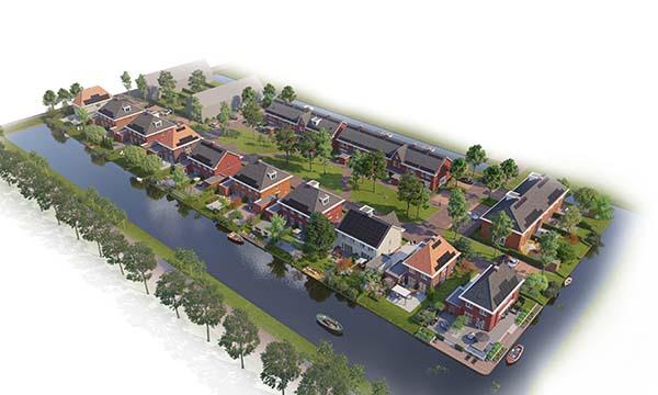 Watertuinen in Esse Zoom te Nieuwerkerk aan den IJssel